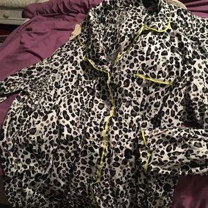 22/24W cotton leopard pjs